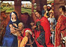 Alte Kunstpostkarte - Rogier van der Weyden - Dreikönigsaltar