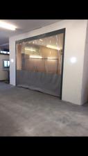 Pulverización coche gris claro y cortinas Compresores de Aire/divisores 20 ft (approx. 6.10 m) X 8 ft (approx. 2.44 m)