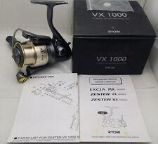 Ryobi Zester 1000 Spinning Fishing Reel VX1000 Rare Vintage NIB