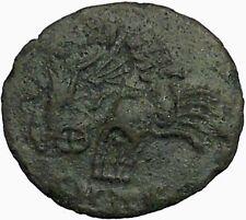 Constantine I the Great POSTHUMOUS Christian Deification Quadriga Horse i34809