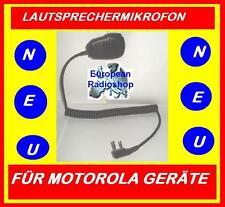 Lautsprecher Mikrofon für MOTOROLA GP-300 GP-2000 GP-68 und andere