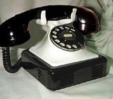 OLD EUROPEAN BELGIUM BELL PHONE BLACK AND WHITE