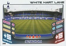 N°289 WHITE HART LANE STADIUM TOTTENHAM TRADING CARD MATCH ATTAX TOPPS 2013