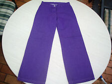 *** FRED BARE *** GIRLS PURPLE HIPPY STYLE JEANS SIZE 8