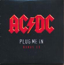 AC/DC Plug Me In RARE promo bonus CD '07 (SEALED)