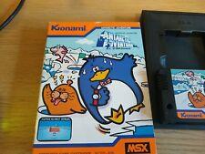 MSX Antarctic Adventure Game Cartridge Konami