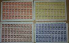 Austria revenues AHV foreign trade set of sheets MNH fiscal