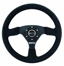 SPARCO RACING R323 R 323 SUEDE STEERING WHEEL 330MM COMPETITION DISHED CONCAVE