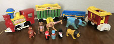 """Vintage Fisher Price Little People """"Circus Train"""" #991 Toy"""