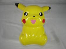 "Pikachu Porcelain coin piggy bank 9"" F.A.B. NY"