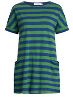 Seasalt Green Stripe Comma Hedgerow Marine Hedra Tunic - Size 8 - 26