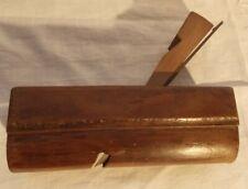 Ancien rabot à main outil menuisier bois cormier plane woodworking tool old