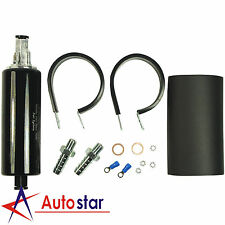 Black Hi Performance Fuel Pump 270LPH Inline For Nissan 240SX 300ZX SR20DET 350Z