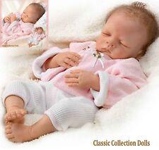 "Ashton Drake ""SWEET DREAMS BELLA"" LIFELIKE NEWBORN BABY DOLL-NEW-IN STOCK NOW !"