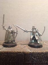 Señor De Los Anillos Faramir y damrod 2 figuras de metal warhammer