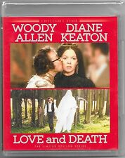 Love and Death Blu Ray(Woody Allen) Ltd Edition New All Regions Free Reg Post