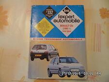 RTA EA RENAULT CLIO ESSENCE DIESEL DE 1993 A FIN FABRICATION N°332 07/1995   J14