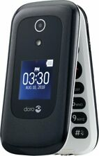 GSM UNLOCKED Doro - 7050   Cell Phone- White/Black (Consumer Cellular)