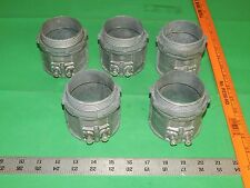 Lot of 5 927 EMT Set Screw Connectors 2-1/2""