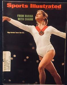 3.19.1973 OKGA KORBUT Sports Illustrated Russia Women's Gymnastics