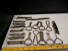Vintage lot of 25 beer can in bottle openers, assorted, Canada dry, hams, etc.
