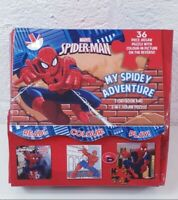 Spider Man My Spidey Adventure Storybook and 2 in 1 Jigsaw Puzzle Used