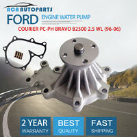 Water Pump+Gasket FOR Ford Courier PD-PH Bravo Mazda B2500 WL 2.5TD WL-T (96-06)