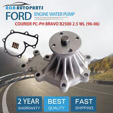 Ford Courier Engine Water Pump PD PE PG PH Mazda Bravo B2500 2.5 WL WL-T 96-06