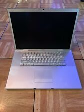 MACBOOK PRO 17 INCH MODEL A1229