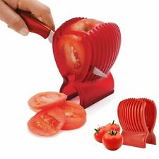 Tomato Holder Slicer Knife Guide Vegetable Onion Potato Fruit Egg Peeler Cutter