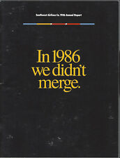 Southwest Airlines annual report 1986 [7061]