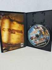 ORIGINAL GOD OF WAR BLACK LABEL PS2 SONY PLAYSTATION 2