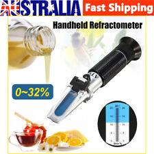 0 32 Brix Wort Specific Gravity Refractometer Fruit Juice Beer Wine Sugar Test
