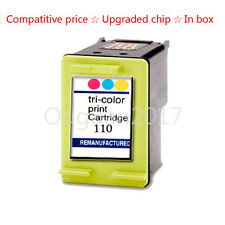 1x W/Chip Replace For HP 110 Photosmart A320 A434 A442 Ink Cartridge