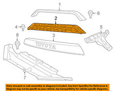 TOYOTA OEM 17-18 4Runner-Grille Grill PZ32735053