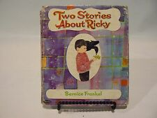 Two Stories About Ricky  A Whitman Tell-a-Tale Book  1966 Vintage