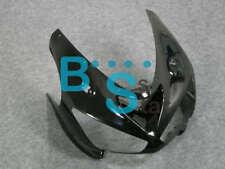 Black Kawasaki ZX6R 2005 2006 front cowling headlight upper nose fairings