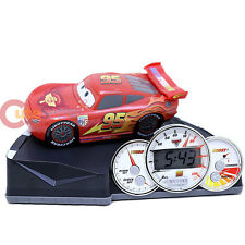 Dinsey Cars Mcqueen Animated Alarm Clock Sound Watch