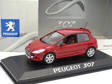 Norev 1/43 - Peugeot 307 3 Portes Rouge