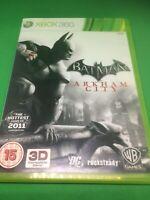 "Batman Arkham City  Xbox 360 ""FREE UK P&P"" Complete With Manual"