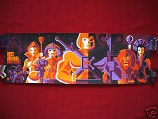 HE-MAN AND THE MASTERS OF THE UNIVERSE TOM WHALEN MATTEL ART PRINT REGULAR MONDO