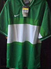 New Size Small Nike Soccer Style V-Neck Jersey Made In Italy 758409-302