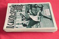 rivista CALCIO E CICLISMO ILLUSTRATO 1954 1/52 ANNATA COMPLETA