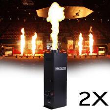 2x 200W DMX de flamme projecteur machine effet déclencheur feu disco partie