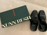 NUNN BUSH MADDOX BLACK DRESS FLEX SHOES MENS SIZE 10M