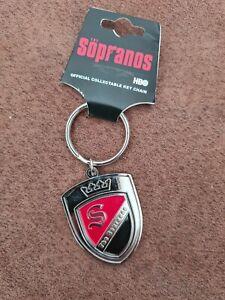 The Sopranos Standard Keychain: Crest Logo