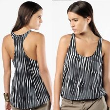 Joie Silk Zebra Print Top Size M