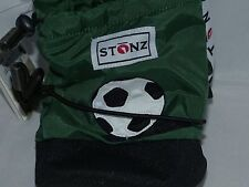 Stonz Boots Booties Baby Infant Toddler SMALL Girl Boy 0-6 months Soccer Ball