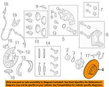 LAND ROVER OEM 08-12 LR2 Rear Brake-Rotor LR001019