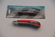 Cuttermesser KDS L-17 mit Autofeeder und Feststellschraube -Mes Couteau Cuchillo